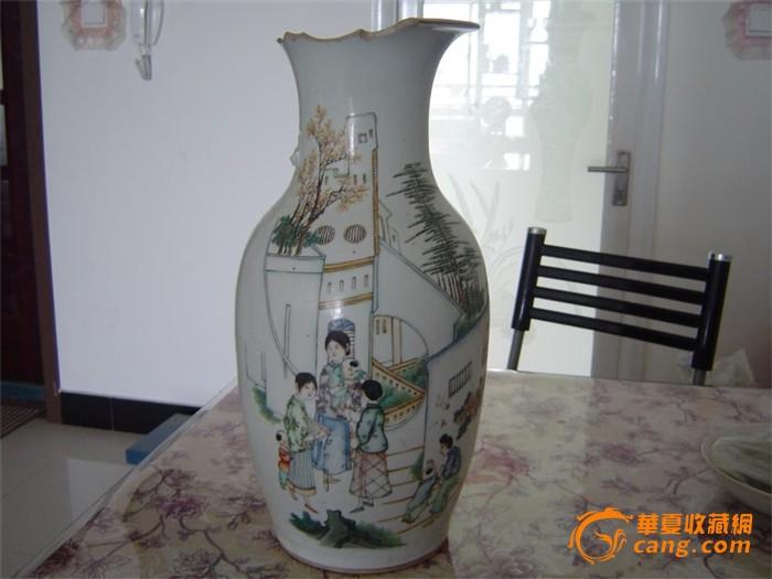 棒针编织花瓶图解