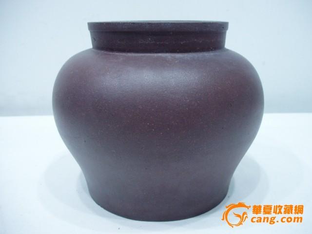 清代王南林作紫砂茶叶罐图片