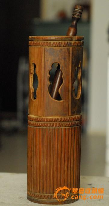 古风边框简笔画竹筒