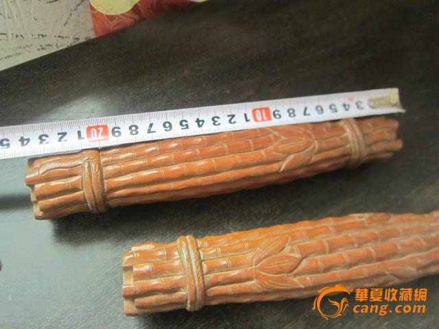 黄杨木雕竹子【镇纸】