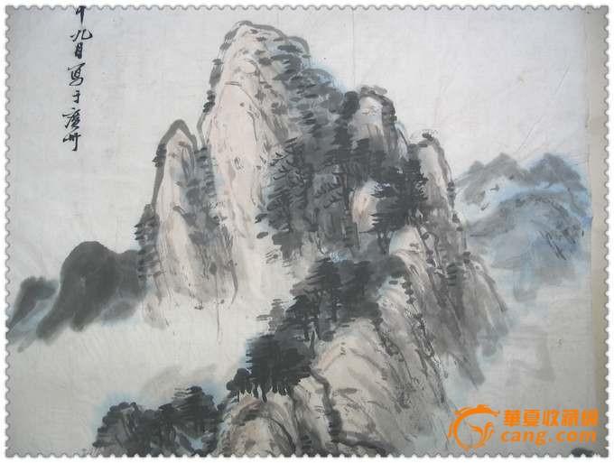 精美的文革手绘水彩花鸟纹画 精美的清代小鸟陶塑小笔筒 精美的清代