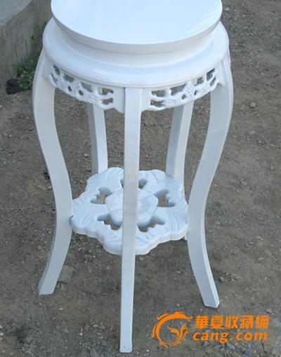 欧式白色草花花架