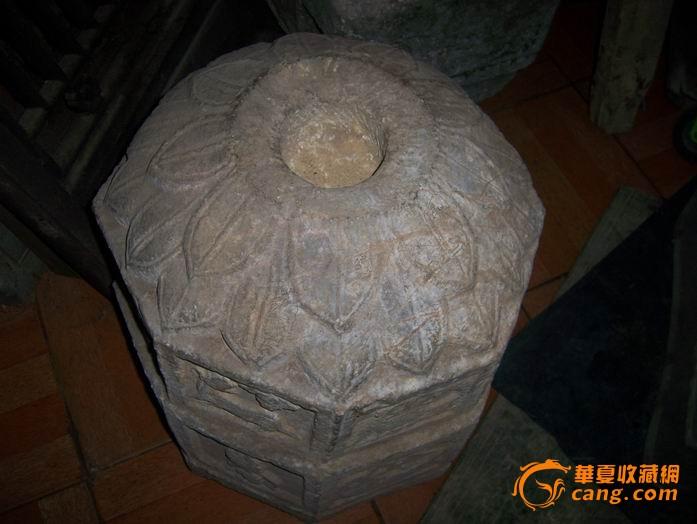 清代白石雕12生肖香炉