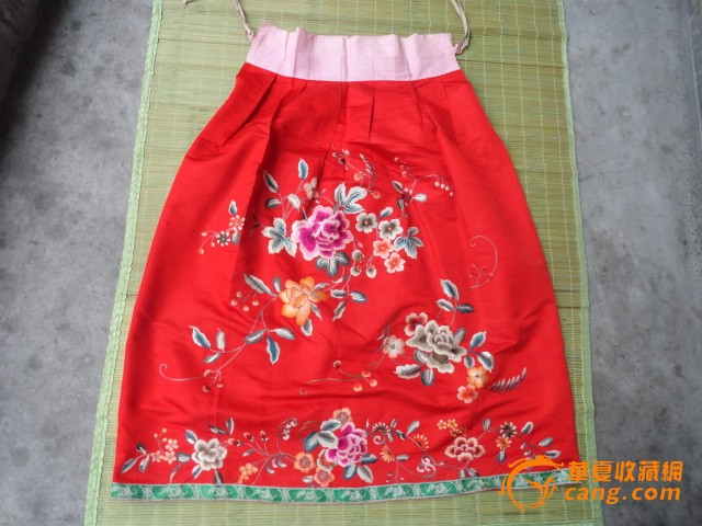 包装带编织裙子