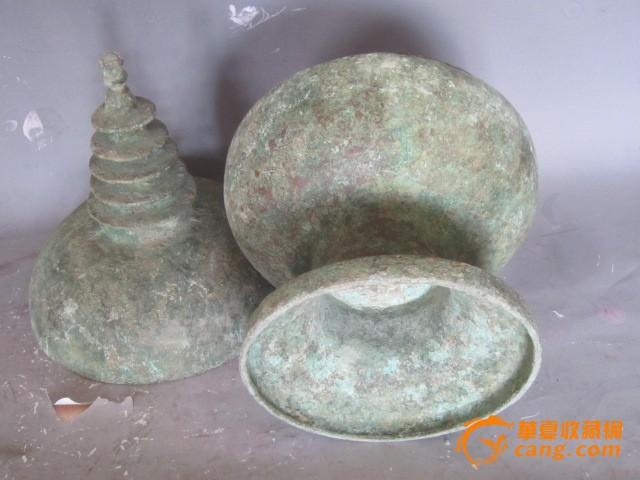青铜舍利塔