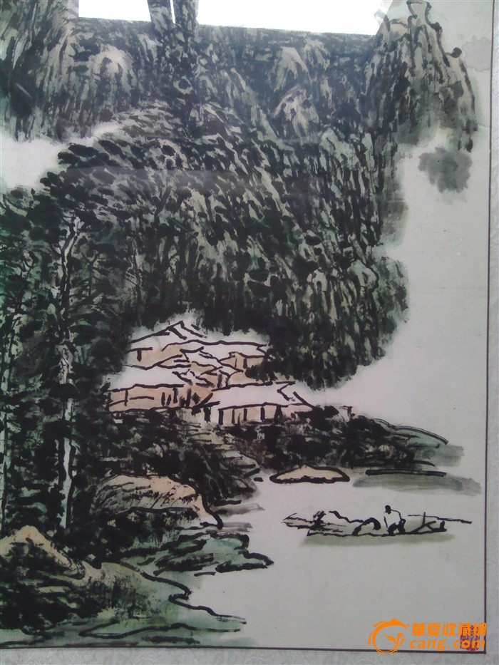 安徽著名画家 郭公达 国画 山水