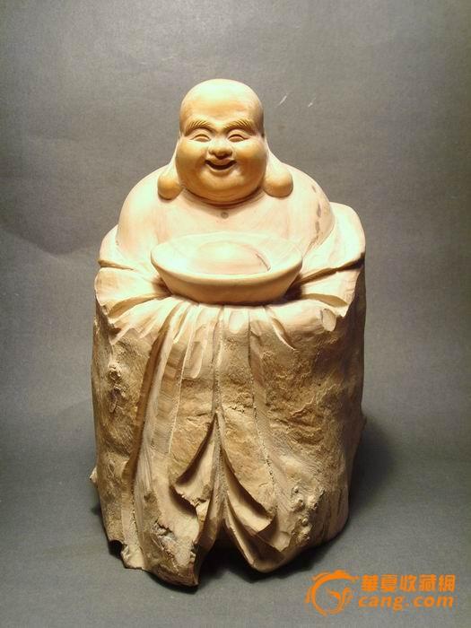 黄杨木雕;弥勒佛