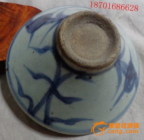 青花瓷器小碗-图2图片