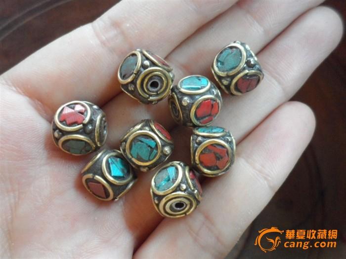 珠子戒指编法图解