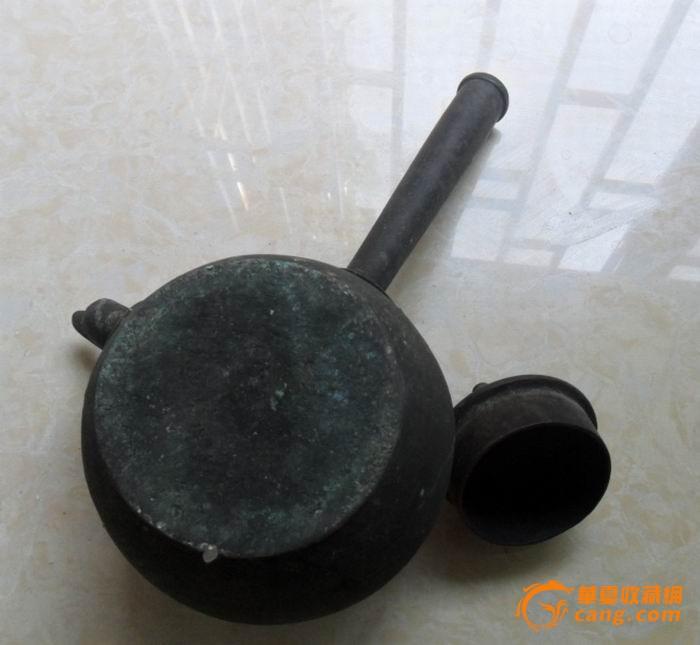 铜酒壶1把