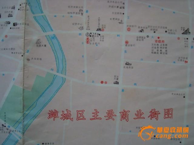 寿光市区地图全图-潍坊市城区交通图1张