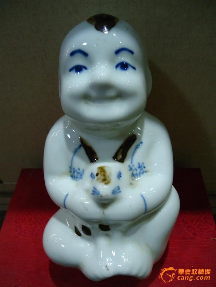 一个很可爱的瓷娃娃