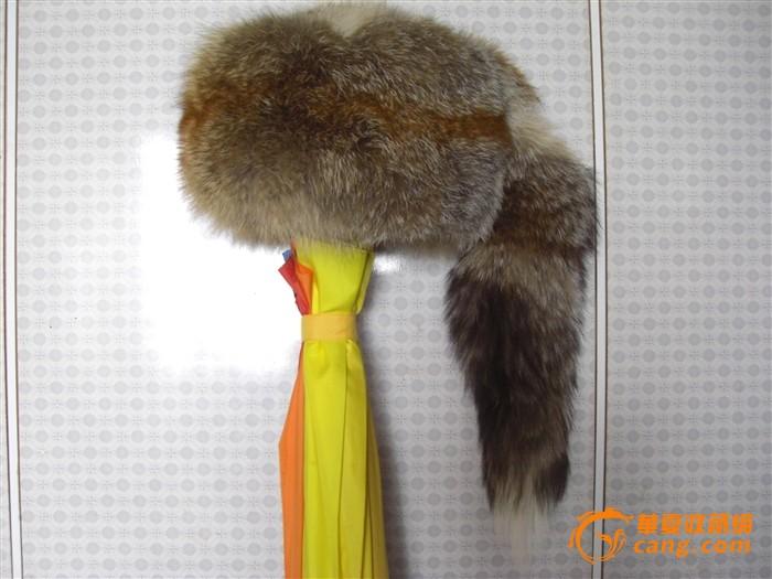 一顶别致的带尾巴的电气*帽上意思nh什么图纸狐狸代表图片