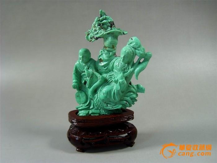 精美的绿松石、孔雀绿石雕刻    2 - h_x_y_123456 - 何晓昱的艺术博客