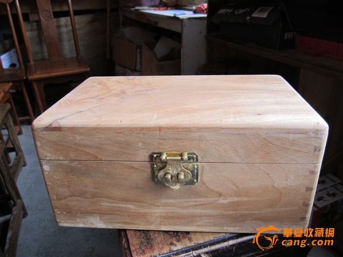 燕尾榫头香樟木首饰盒