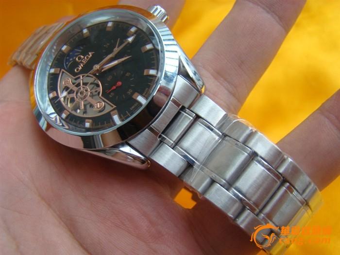 欧米茄自动手动手表