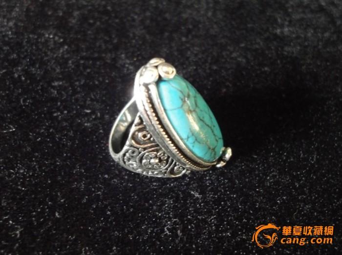 绿松石戒指图片