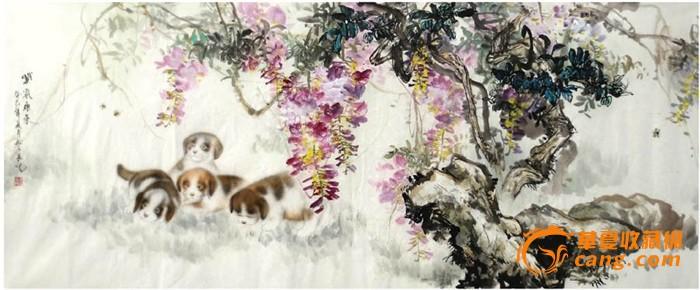 近现代 > 杜陈静·小六尺工笔动物画