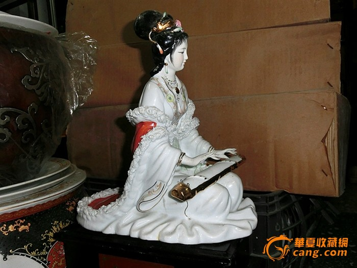 古代女生弹琴 美女 唯美qq图片