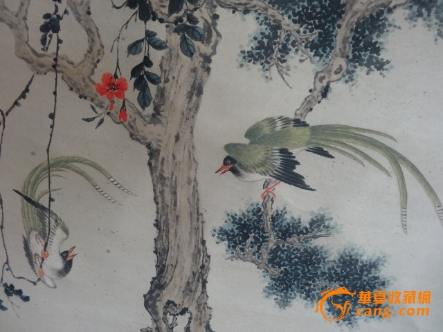 八大山人-花鸟作品图片