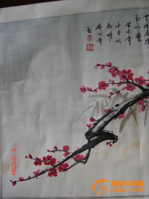 梅花国画图片写意画法-写意梅花的画法和步骤,国画的