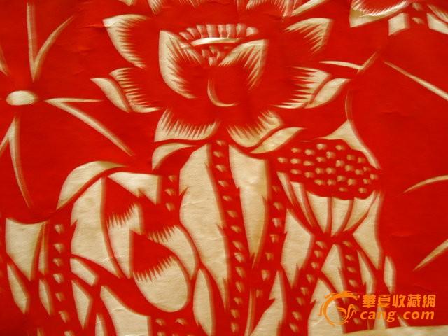 幼儿园红花动物剪纸