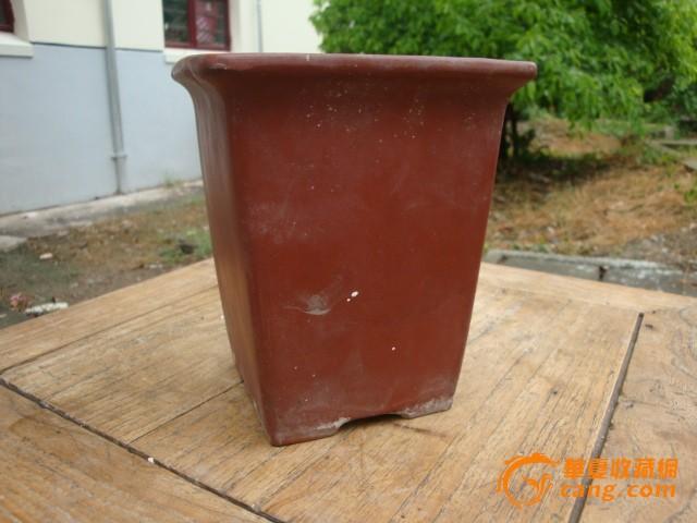 方桶紫砂花盆
