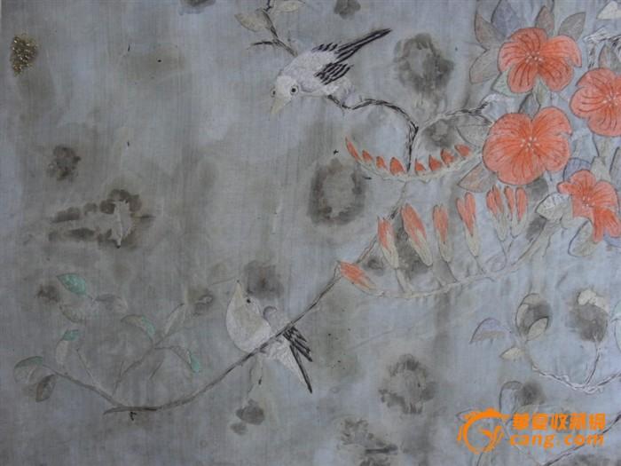 民国花鸟刺绣_民国花鸟刺绣价格_民国花鸟刺绣图片_藏