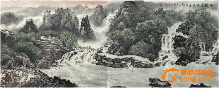 彭文章·小六尺山水国画