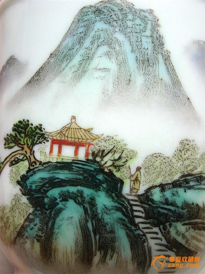 艺术手绘风景水墨图片