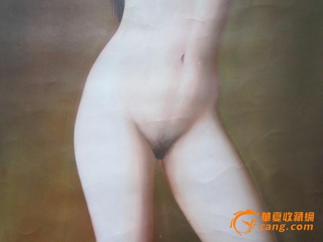 美女裸体油画; 人体艺术油画