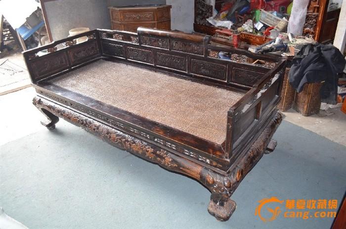 雕花罗汉床-雕花罗汉床价格-雕花罗汉床图片,来