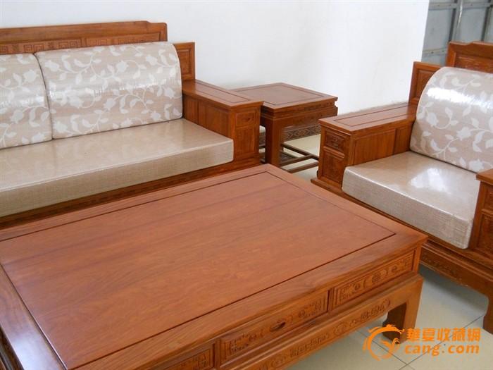 非洲花梨木沙发六件套