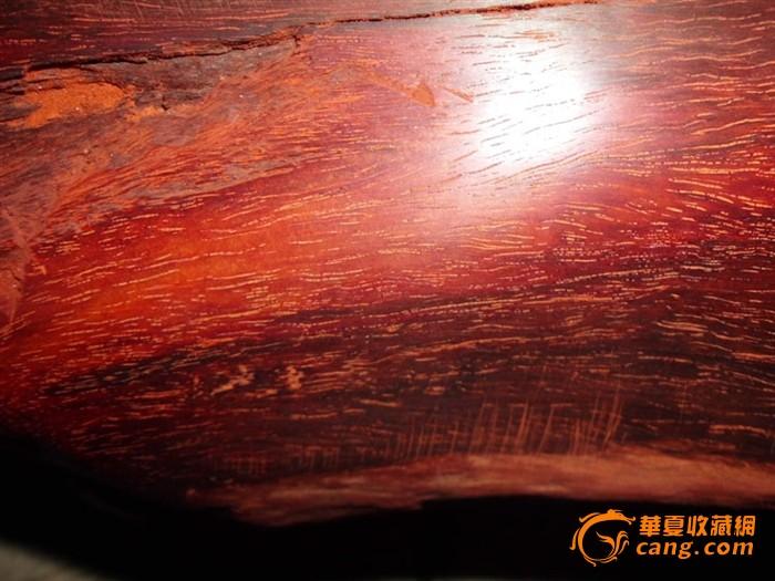 高密度油性大印度小叶紫檀木料原木图片