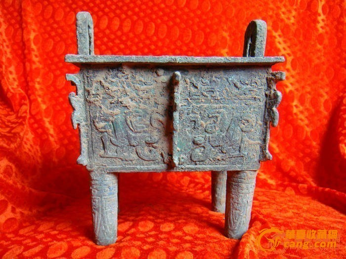 西周青铜器方鼎图1
