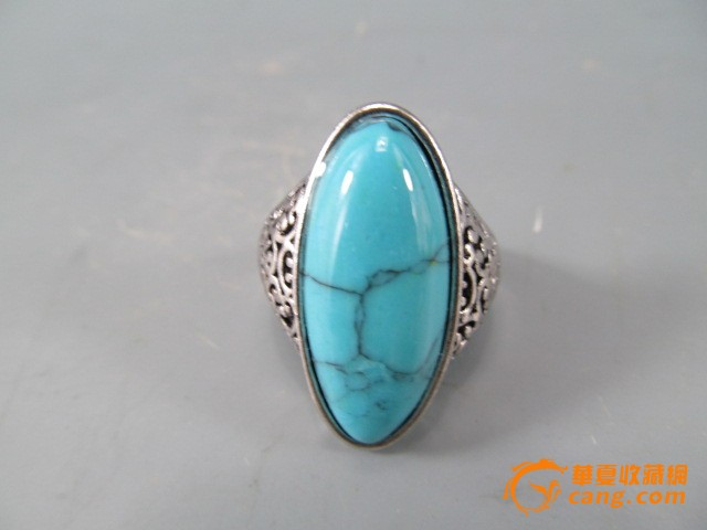 一口价 绿松石戒指图片