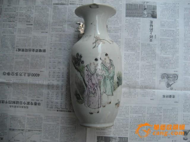 民国人物花瓶