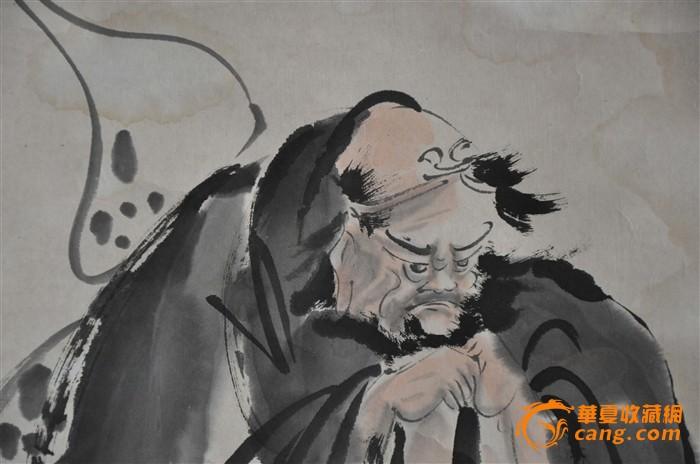 近现代国画大师杜白洋人物保真