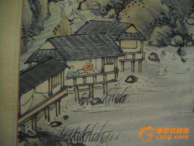 村夜古诗简笔画