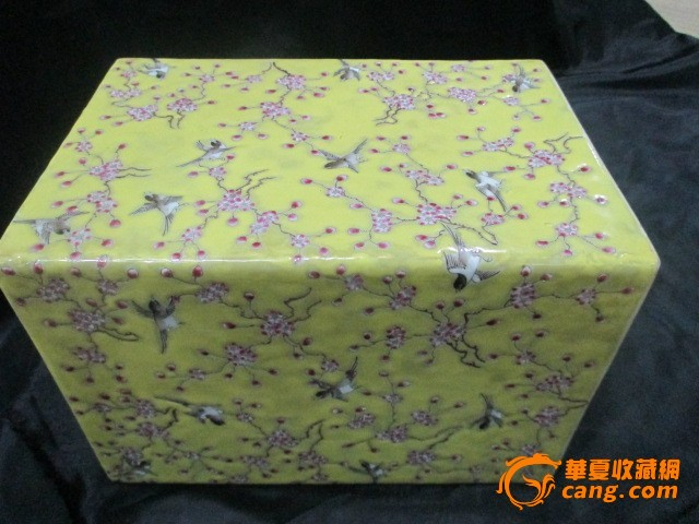 花鸟瓷枕图1