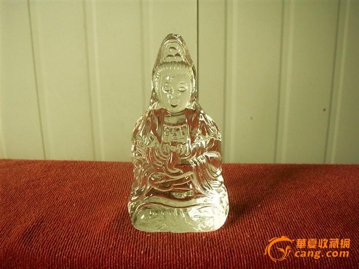 水晶雕 - 观音像 - h_x_y_123456 - 何晓昱的艺术博客