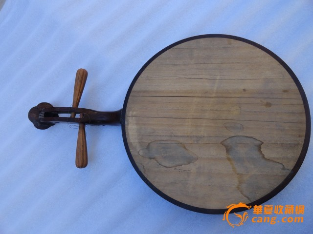民国红酸枝木板琴