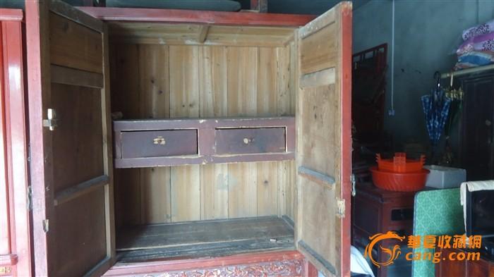 柜子古风花纹素材