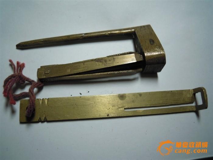 一字门铜锁_一字门铜锁价格_一字门铜锁图片_来自藏友