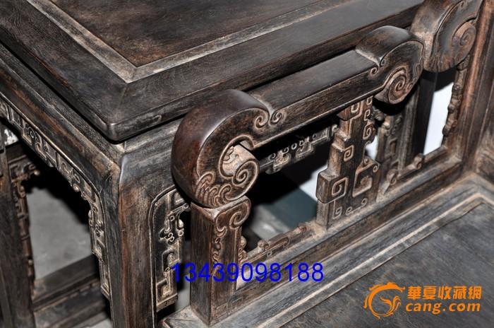明清家具 小叶紫檀 太师椅图片
