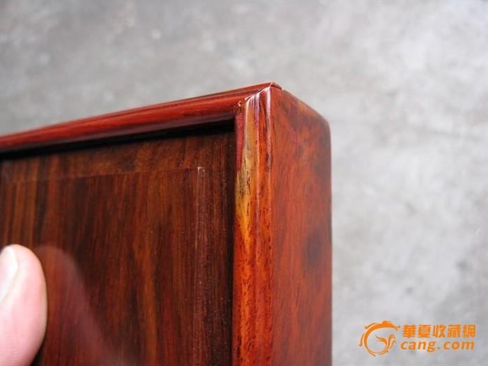 红酸枝盒子, 榫卯结构