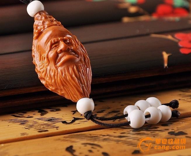 老寿星公单子核雕刻橄榄胡老核橄榄单籽单核手好视频下载图片