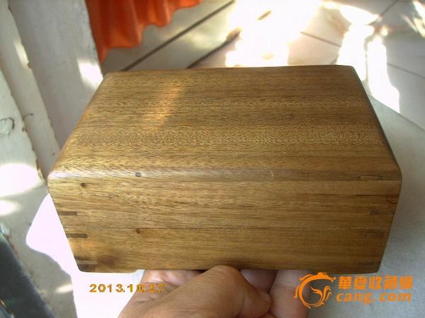 制作精美的金丝楠木老料卯榫结构小首饰盒*珠宝盒!