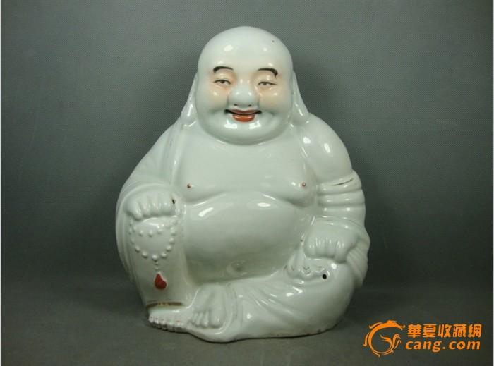民国瓷塑弥勒佛一尊