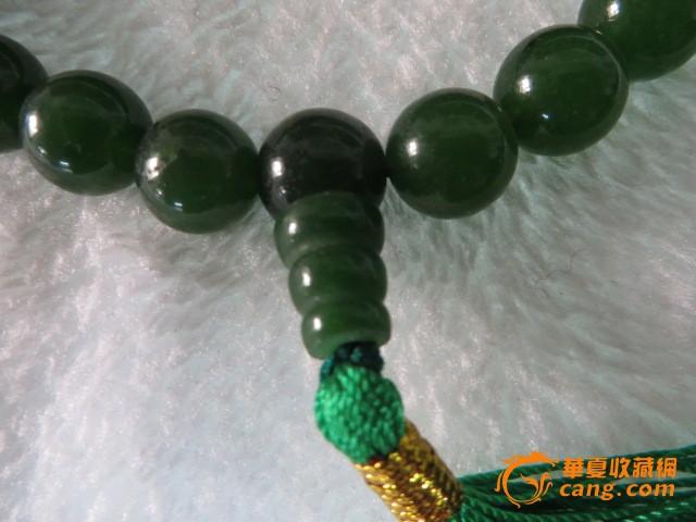 祖母绿玉项链